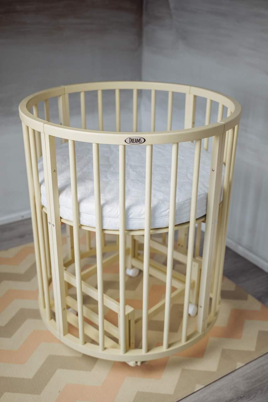 Кроватка-трансформер детская Dreams Стандарт 8 в 1