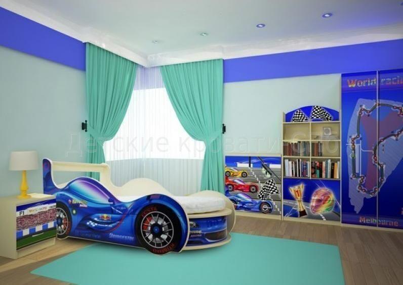 спорткар набор синий