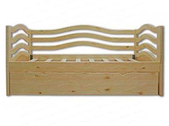 детская кровать из массива дерева Бриз