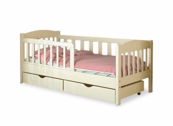 кроватка из массива сосны