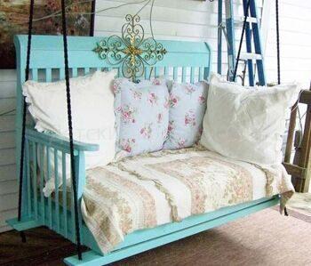 Что можно сделать из старой кровати (детской кроватки) и дивана